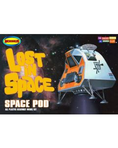 Moebius 901 Lost in Space Space Pod 1/24 Scale Plastic Model Kit