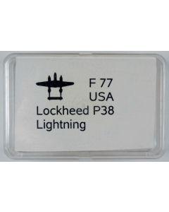 Neptun FB 77 US P-38 Lightning 1/1250 Scale Model
