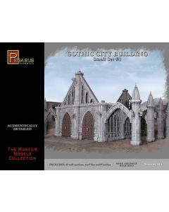 Pegasus 4924 Gothic City Building Small Set #1 28 mm Scale Plastic Model Kit