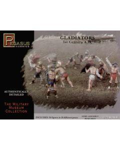 Pegasus 7100 Gladiators 1st Century 1/72 Scale Figures