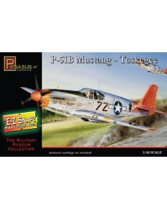 Pegasus 8404 P-51B Mustang 'Tuskegee Airmen' 1/48 Scale Snap-Together Model Kit