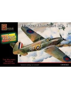 Pegasus 8411 WWII British Hurricane Mk.I 1/48 Scale Snap-Together Model Kit