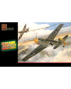 Pegasus 8412 WWII German Bf109E-4 1/48 Scale Snap-Together Model Kit