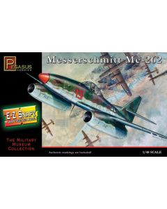 Pegasus 8415 WWII German Me262 1/48 Scale Snap-Together Model Kit