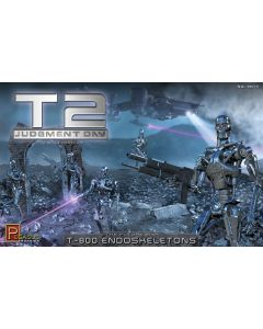 Pegasus 9017 T2 Judgment Day T800 Endoskeletons 1/32 Scale Plastic Model Kit