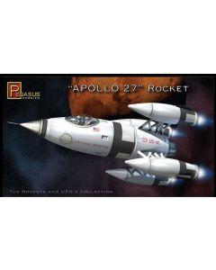 Pegasus 9101 Apollo 27 & Astronauts 1/72 Scale Plastic Model Kit