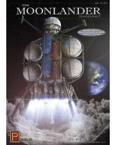 Pegasus 9109 The Moonlander Spacecraft 1/350 Scale Plastic Model Kit