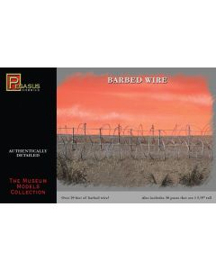 Pegasus 6520 Barbed Wire & Posts for 1/48 Scale Dioramas