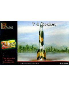 Pegasus 8416 WWII German V-2 Rocket 1/48 Scale Snap-Together Model Kit