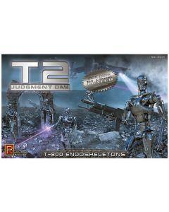 Pegasus 9217 Terminator 2 T800 Endoskeltons Chrome Plated 1/32 Scale Model Kit