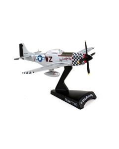 Postage Stamp 53428 P-51D Mustang 'Big Beautiful Doll' 1/100 Scale Diecast Model