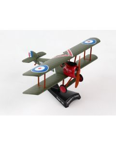 Postage Stamp 5350-2 Sopwith F.I Camel Arthur Roy Brown 1/63 Scale Diecast Model