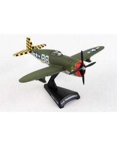Postage Stamp 53592 P-47 Thunderbolt 'Big Stud' 1/100 Scale Diecast Model