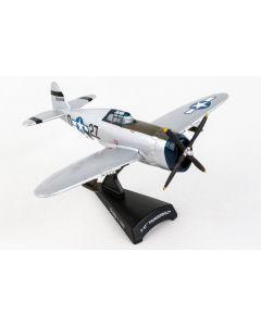 Postage Stamp 53594 P-47 Thunderbolt 'Kansas Tornado II' 1/100 Scale Model