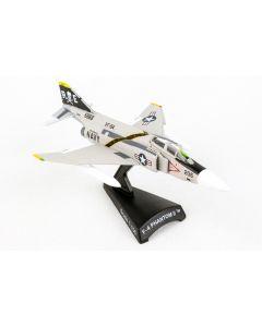 Postage Stamp 53844 F-4 Phantom II VFA-84 'Jolly Rogers' 1/155 Scale Model