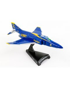 Postage Stamp 53845 F-4 Phantom II 'Blue Angels' 1/155 Scale Diecast Model