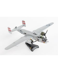 Postage Stamp 54034 USAAF B-25J Mitchell 'Panchito' 1/100 Scale Diecast Model