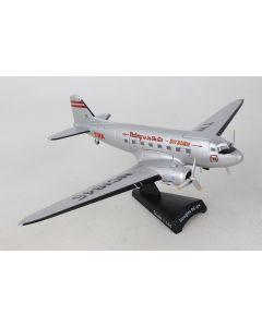 Postage Stamp 55594 TWA Douglas DC-3 1/144 Scale Diecast Model