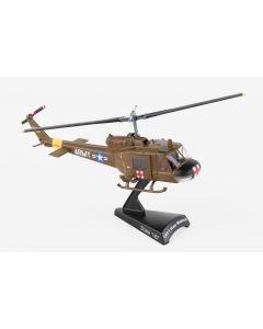 Postage Stamp 56012 US Army UH-1 'Huey' Medevac 1/87 Scale Diecast Model