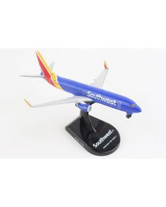 Postage Stamp 58157 Southwest Airlines Boeing 737-800 1/300 Scale Diecast Model