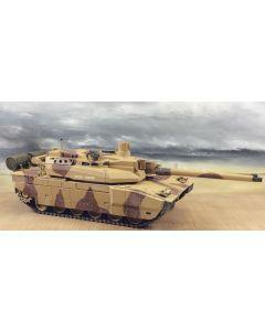 Military Diorama Background 'Desert Coast' Hand-Painted Original