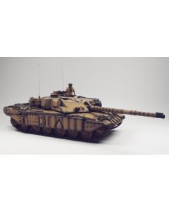 British Challenger I Tank Desert Colors Built-Up 1/35 Scale Plastic Model Kit