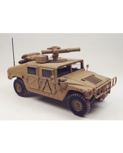 US Army Humvee with TOW Launcher Built-Up 1/35 Scale Model Kit