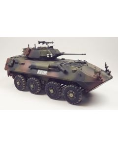 USMC LAV-25 'KFOR' Built-Up 1/35 Scale Plastic Model Kit