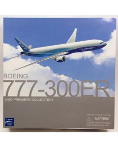 Dragon Wings 55851 Boeing 777-300ER House Colors 1/400 Scale Diecast Model