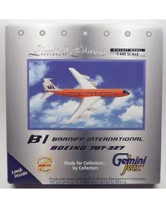 GeminiJets GJBNF213 Braniff International 707-327C 1/400 Scale Diecast Model