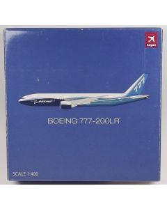 Hogan 9642 Boeing 777-200LR House Colors 1/400 Scale Diecast Model