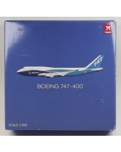 Hogan 9697 Boeing 747-400 House Colors 1/400 Scale Diecast Model