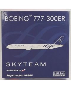 Phoenix 10967 Aeroflot Boeing 777-3M0ER 'VQ-BQG' 1/400 Scale Diecast Model