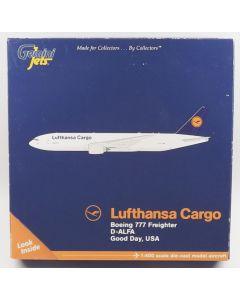 GeminiJets GJDLH1364 Lufthansa Cargo Boeing 777-FBT 1/400 Scale Diecast Model