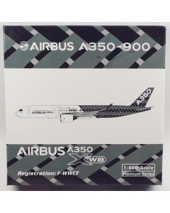 Phoenix 10972 Airbus Industries A350-941 'F-WWCF' 1/400 Scale Diecast Model