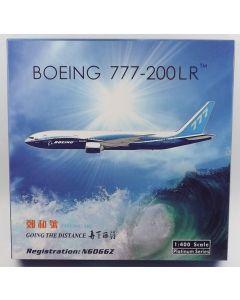 Phoenix 11445 Boeing Aircraft Company 777-240LR 'N6066Z' 1/400 Scale Model