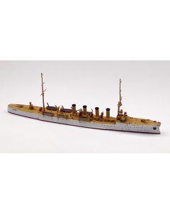 Navis 340N US Light Cruiser Salem White/Gold 1/1250 Scale Model Ship
