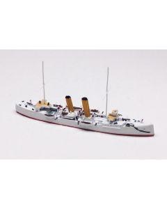 Hai 428 British Cruiser Thetis 1892 1/1250 Scale Model Ship