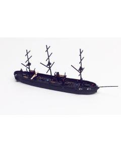Hai 660 US Frigate Lancaster 1859 1/1250 Scale Model Ship
