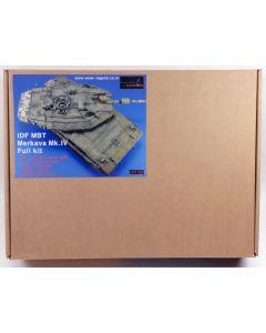 Legend Productions LF1123 IDF MBT Merkava Mk IV 1/35 Scale Resin Kit with PE