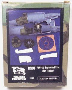 Verlinden Productions 1220 F4U-1/2 Superdetail Set for Tamiya 1/48 Scale Kit