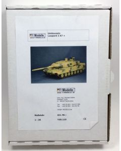 Y-Modelle Y35.115 Upgrade Set for Leopard 2 A7+ 1/35 Scale Resin & PE Detail Set