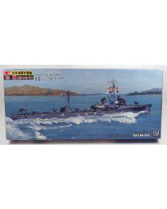 Pit-Road SkyWave W40 Japanese Torpedo Boat Hatsukari 1/700 Scale Model Kit