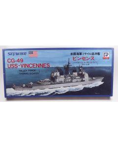 Pit-Road SkyWave 41 CG-49 USS Vincennes 1/700 Scale Plastic Model Kit
