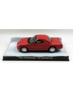 Ford Thunderbird James Bond 007 'Die Another Day' 1/43 Scale Diecast Model