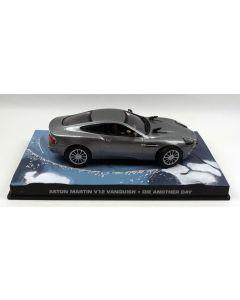 Aston Martin V12 Vanquish James Bond 'Die Another Day' 1/43 Scale Diecast Model