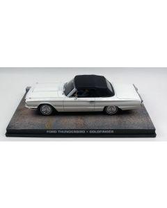 Ford Thunderbird James Bond 'Goldfinger' 1/43 Scale Diecast Model