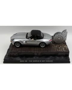BMW Z8 James Bond 'The World is not Enough' 1/43 Scale Diecast Model