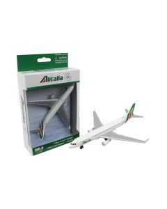 Alitalia Airliner Toy Airplane Diecast with Plastic Parts
