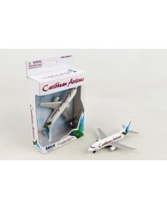Caribbean Airlines Airliner Toy Airplane Diecast with Plastic Parts